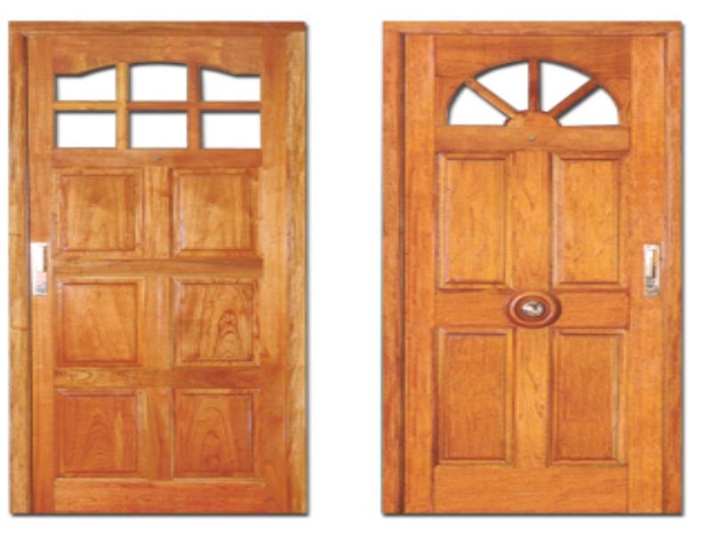 Carpinter a de madera for Precios en puertas de madera